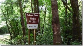 Miller Bar River Access