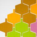 Flock Felt Wall Tiles