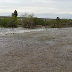 Salt River Flood at Tres Rios Base & Meridian