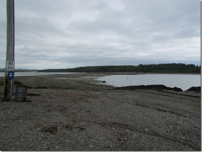 The Road to Ministers Island at Low Tide