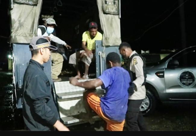 Polisi Di Wamena Tangkap 39 Pemabuk, Dua Diantaranya Kepala Kampung