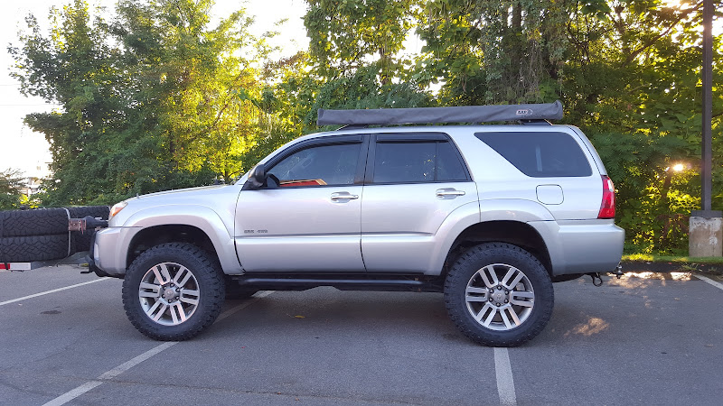34 1 inch tires are on toyota 4runner forum largest. Black Bedroom Furniture Sets. Home Design Ideas
