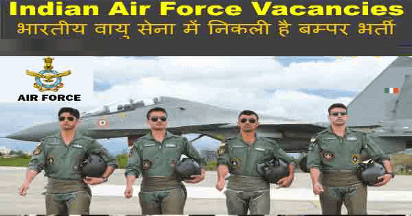 Indian Air Force Airmen Group X & Y 2021