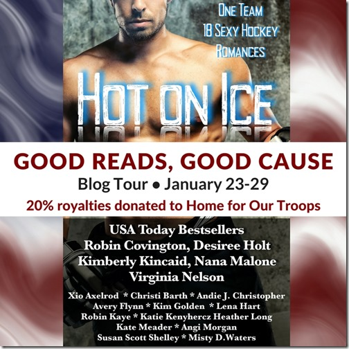 Good Reads for a Good Cause - Hot on Ice: A Hockey Romance Anthology