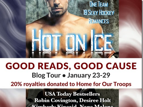 Spotlight: Good Reads for a Good Cause - Hot on Ice: A Hockey Romance Anthology