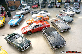 Mercedes Classic car collection for sale