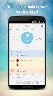 Maya - My Period Tracker- screenshot thumbnail