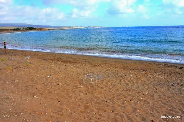 пляж лара, черепашье гнездо, кипр, акамантос, отдых на кипре