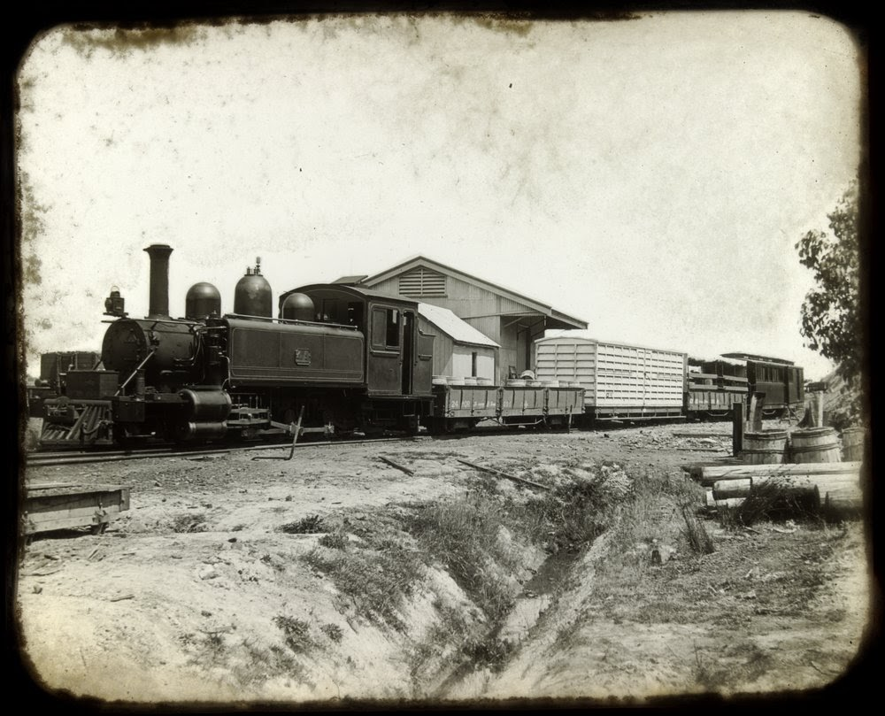 Gembrook train ( Locomotive 4A ) State Library of Victoria Photo Image H35215/25 http://handle.slv.vic.gov.au/10381/76380