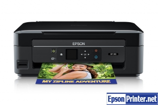 How to reset Epson XP-310 printer