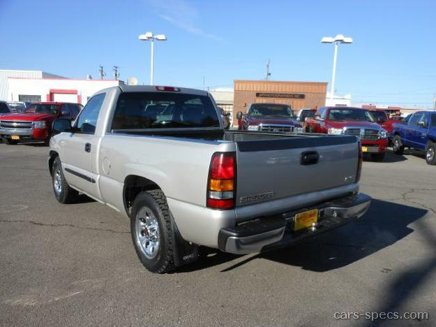 2004 gmc sierra 1500 regular cab specifications pictures. Black Bedroom Furniture Sets. Home Design Ideas