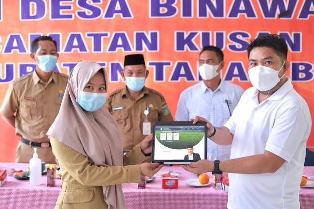 Bantu Masyarakat Desa Bang Dhien Luncurkan Aplikasi Gides