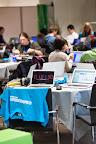 Scenes around EUhackathon 2014 at Googleplex in Brussels, Belgium on 03.12.2014
