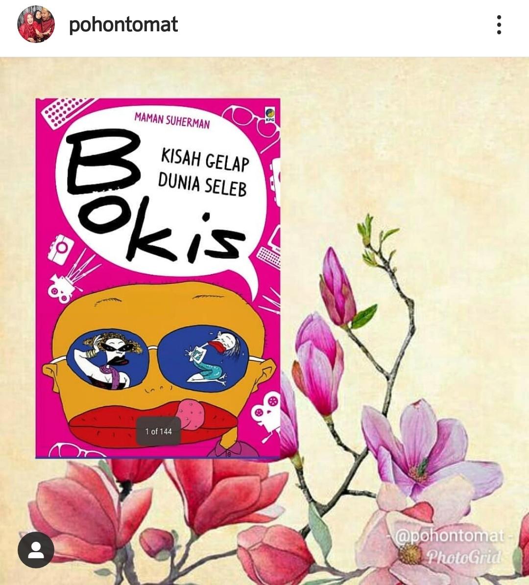 Review buku bokis kang maman