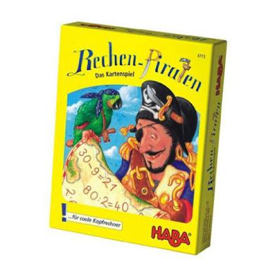 Piratas aritméticos juego de cartas de Haba