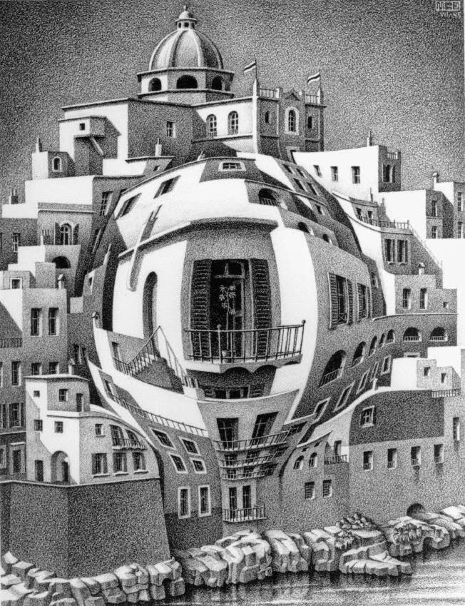 Mauritz Cornelius Escher - Magazine cover