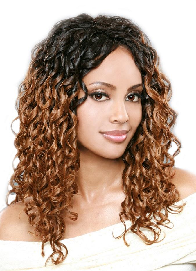 Curly Weave Hairstyles For Black Women 2016