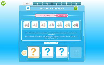 De Sims FreePlay babyromperevenement