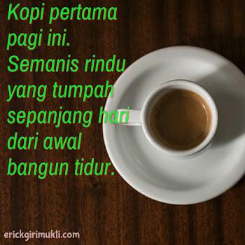 antara kopi dan kerinduan