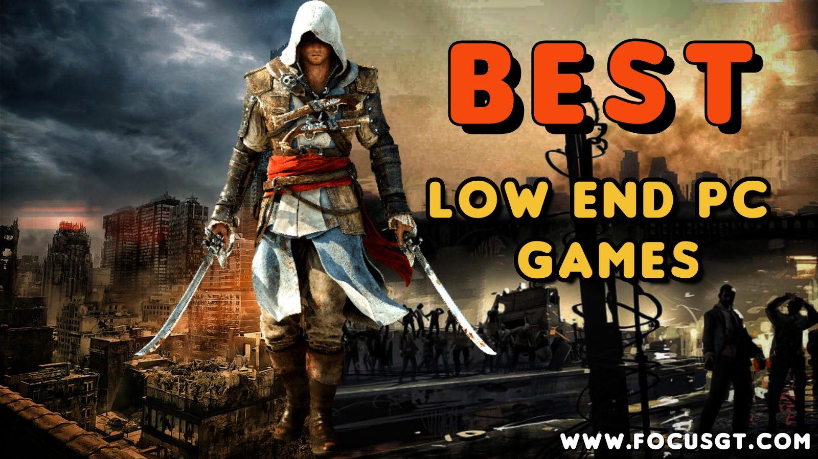 TOP 10 Games for Low END PC (64 MB / 128 MB / 256 MB VRAM / Intel GMA / Intel HD Graphics)