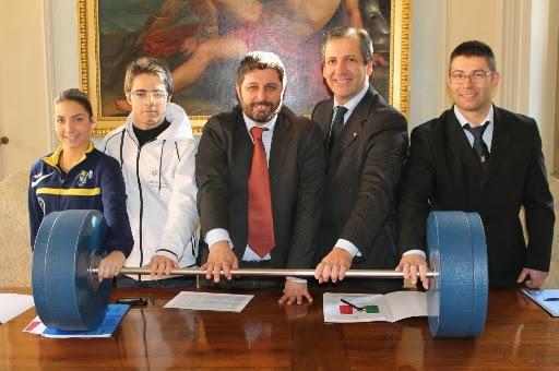 Presentati a Modena i Campionati Italiani Assoluti di Pesistica