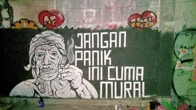 Anggota Komisi III: Tak Perlu Berlebihan Buru Pembuat Mural, Kesannya Jadi Antikritik