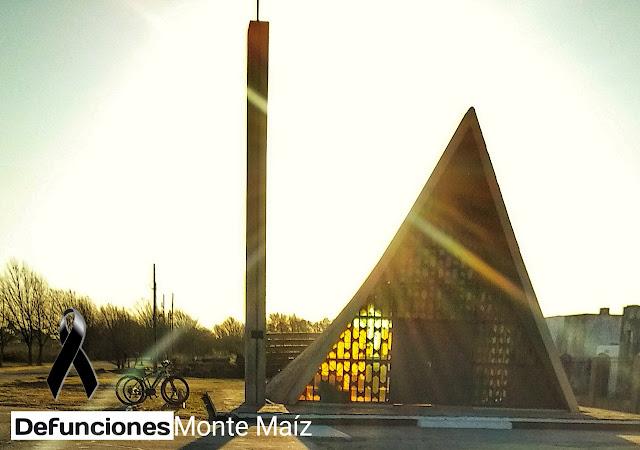 Capilla Cementerio Monte Maíz