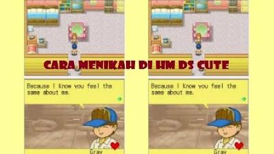 kali ini  akan membahas perihal  Cara Menikah di Harvest Moon DS/DS Cute