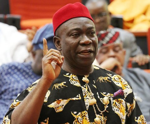 """No project will be abandoned""– Ekweremadu"