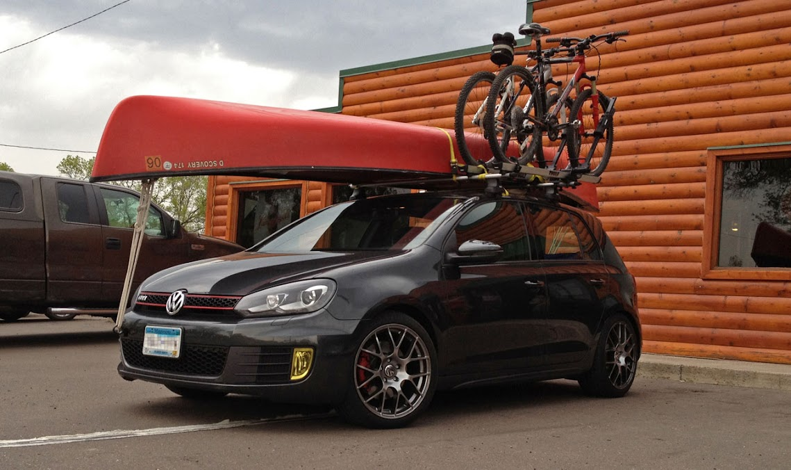 Lexington Volkswagen >> Roof Rack for Kayaks - VW GTI MKVI Forum / VW Golf R Forum / VW Golf MKVI Forum / VW GTI Forum ...