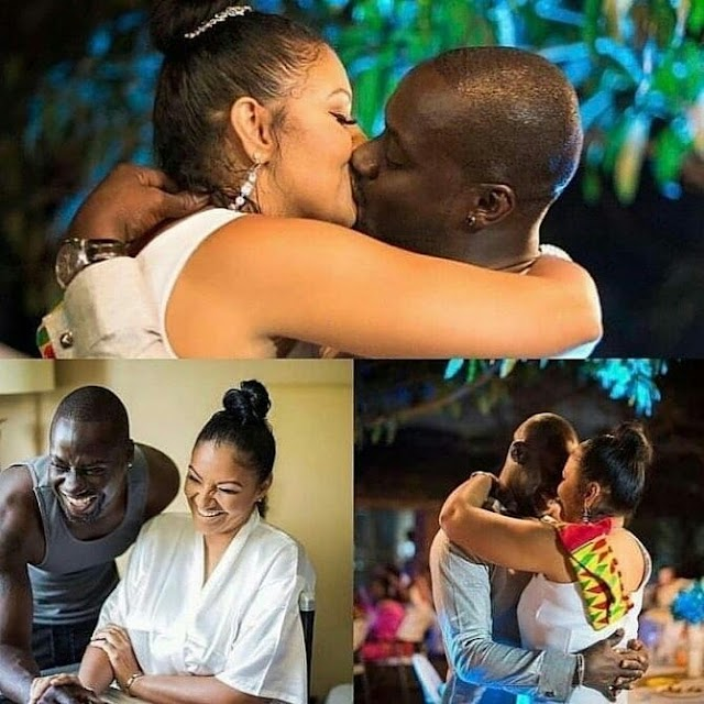 Actor Chris Attoh New wife has been shot Dead.