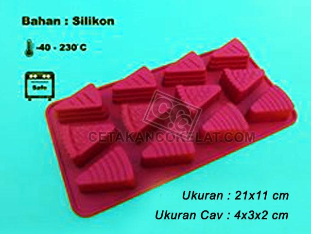 cetakan coklat cokelat SIL052 Pizza SIL52
