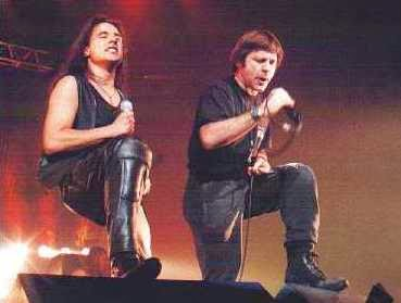 Bruce & Andre Mattos-Paris January-1999