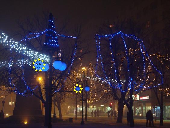Сказка про зиму в городе