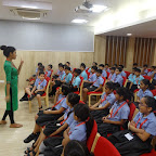 (Grade III & IV) Seminar on Safe - Unsafe Touch - By Childline - WIS Pawan Baug (Primary Section)