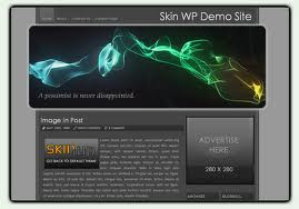 Skin Smoky - Free Wordpress theme