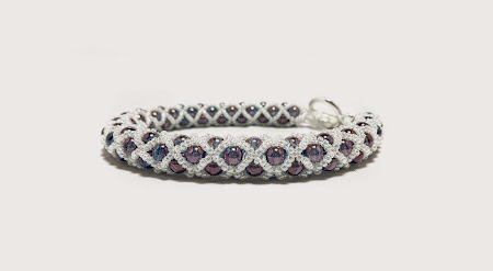 Purple Netted Bracelet by FusionFrenzy