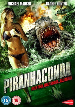 Filme Poster Piranhaconda DVDRip XviD & RMVB Legendado