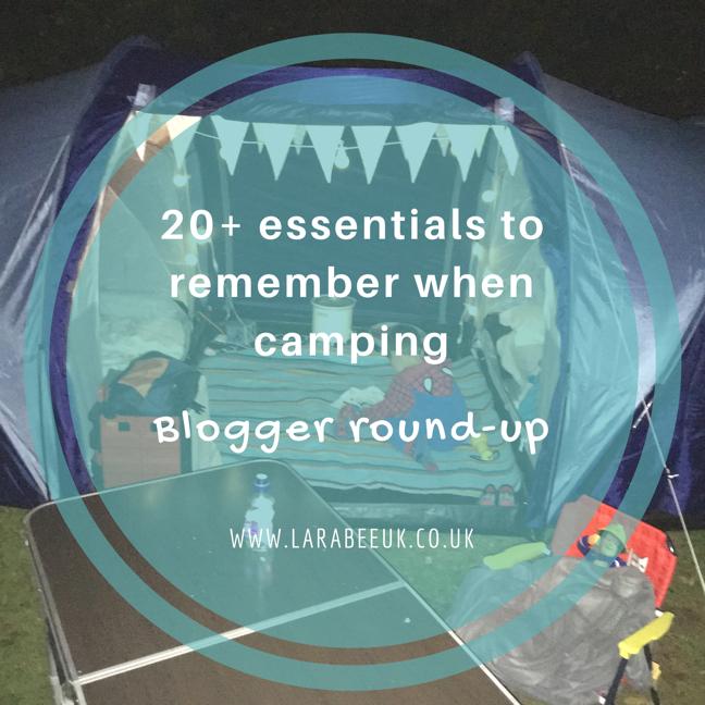 LarabeeUK - 20+ camping essentials 1