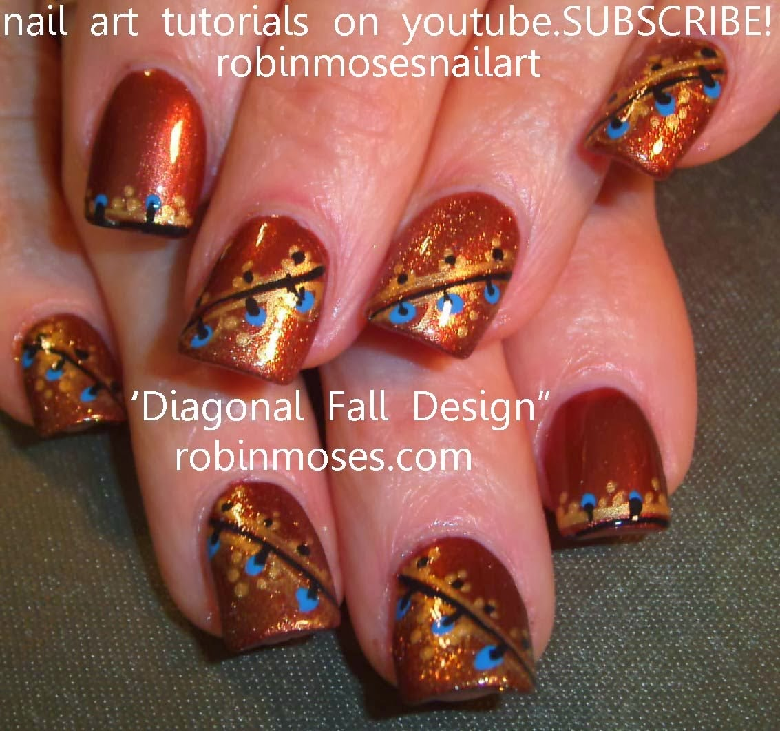 thanksgiving nail art ideas