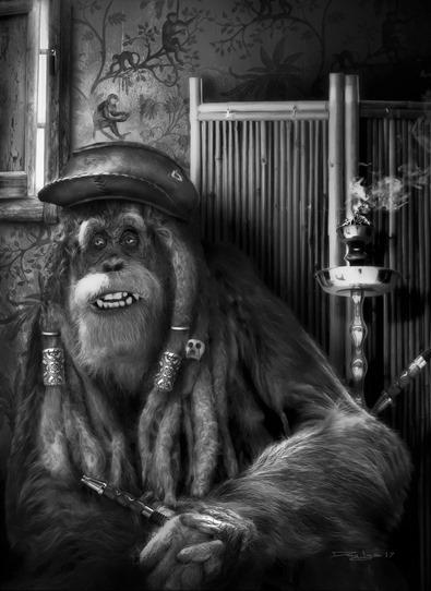 Rasta Ape Gallery Signature
