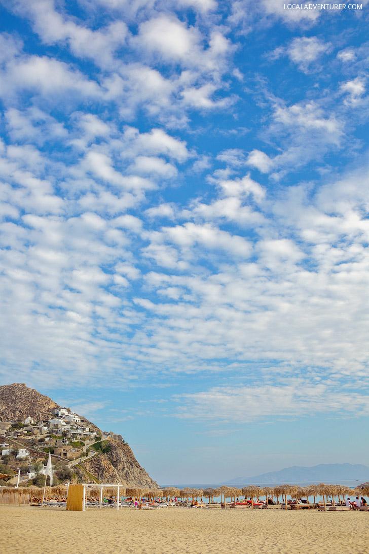 ελιά / Elia Beach Mykonos - Best Beaches in Mykonos.
