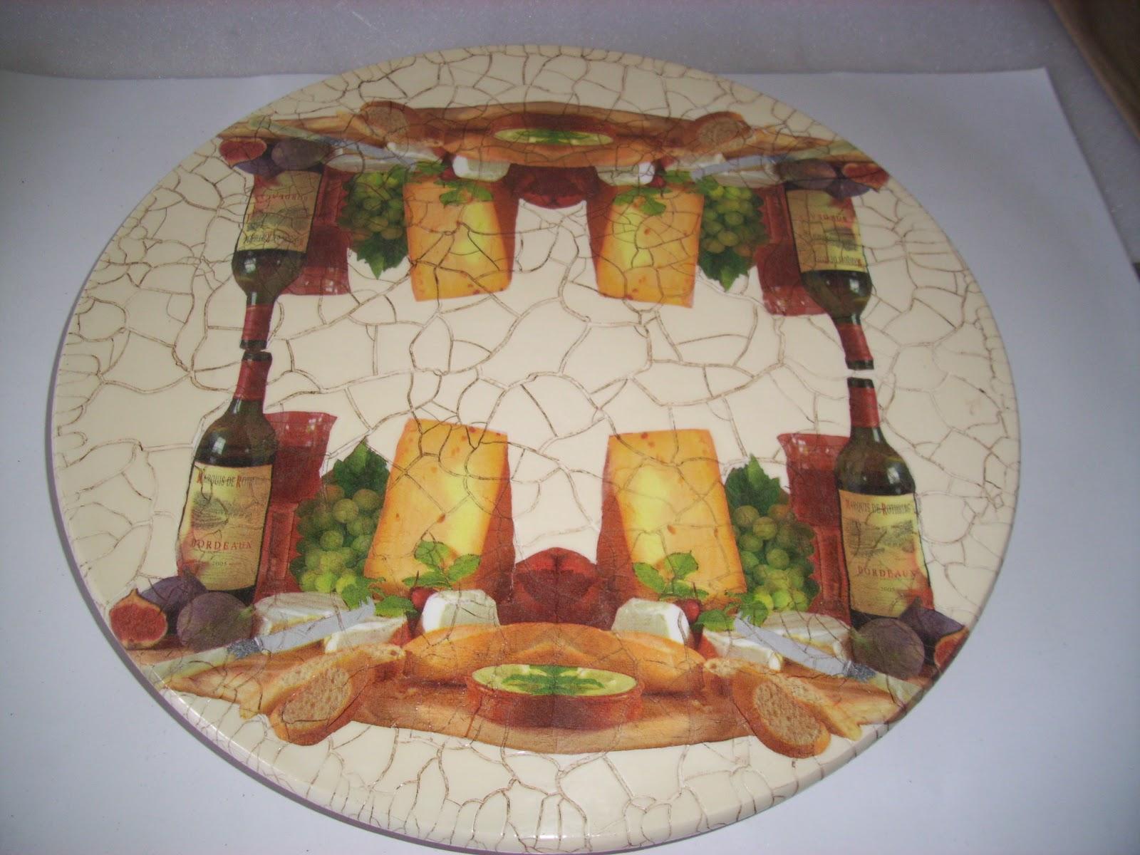 Base giratória para queijos - Ref:126