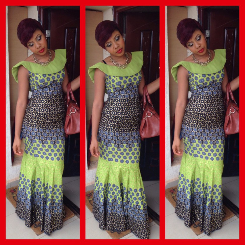Latest Ankara Long Gown Design for Ladies 2017 - Styles Art