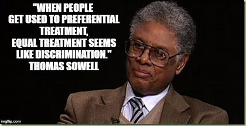 sowell on preerential treatment