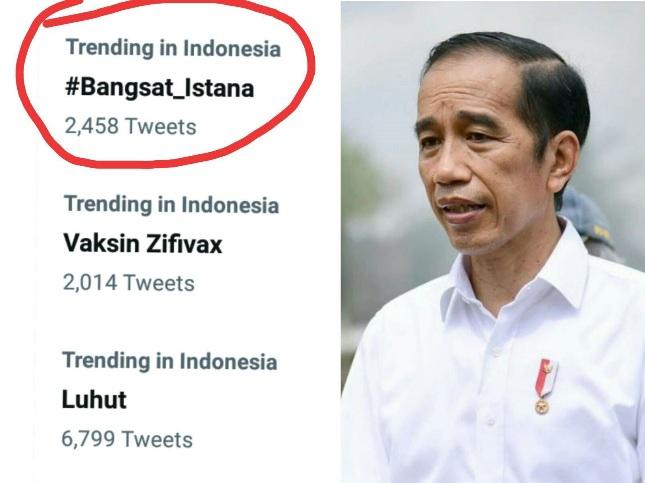 Tagar 'Bangsat Istana' Menggema di Twitter, Pemerintahan Jokowi Kena Kritik Netizen Lagi