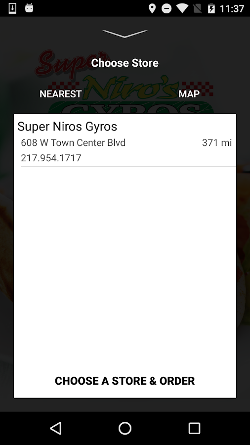 Super Niro's Gyros- screenshot