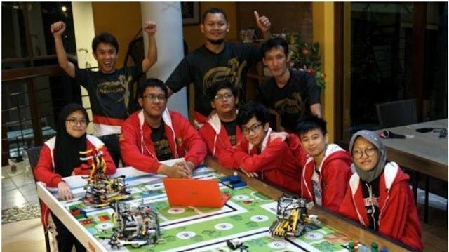 Tim Robotik dari Jogja Raih Tiga Medali di Kompetisi Robot Dunia di Kanada