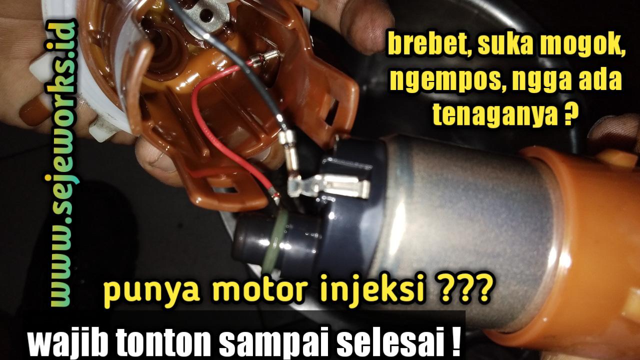 Cara Memperbaiki Dan Memasang Fuel Pump Yang Rusak Pada Motor Beat Fi