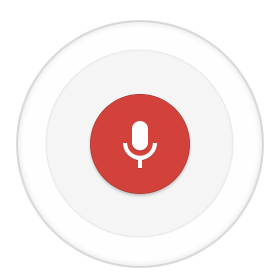 Google Now microphone